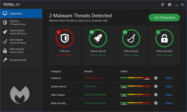Total AV 2020 Crack + Serial Key 2020 Free Antivirus [Latest]
